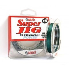 Шнур FANATIK Super Jig PE X8 100 m. (#0.8) 0.14 mm GREEN